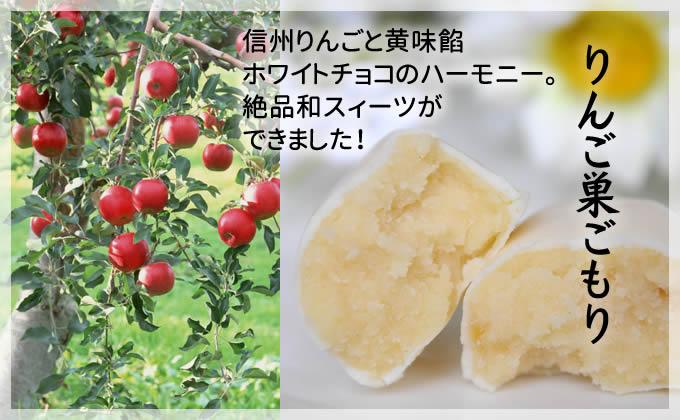信州りんごと黄味餡